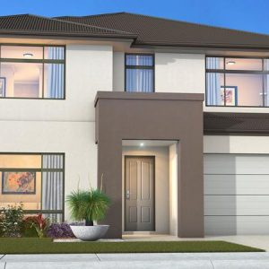 House Plan SA - Double Storey - Sentosa