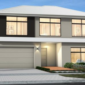House Plan SA - Double Storey - Vista Element