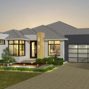 House Plan SA - Single Storey - Caxton - Rendering