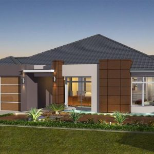 House Plan SA - Single Storey - Sonata - Rendering