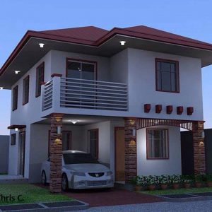 House Plans SA -Double Storey - 121