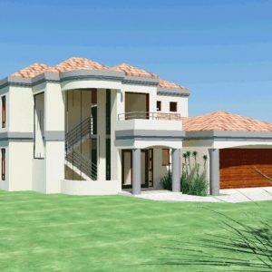 House Plans SA -Double Storey - 135