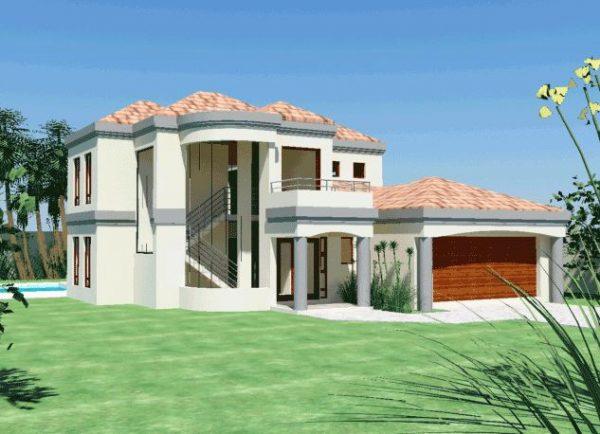House Plans SA -Double Storey - 135