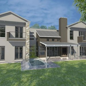 House Plans SA -Double Storey - 140