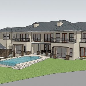 House Plans SA -Double Storey - 142