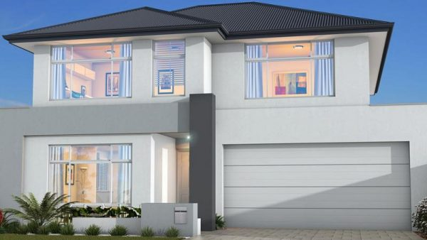 House Plans SA -Double Storey - 155