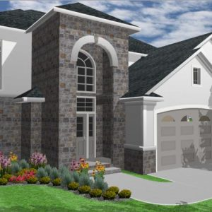 House Plans SA -Double Storey - 180