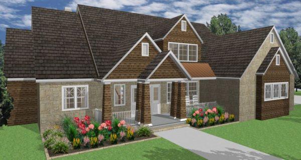 House Plans SA -Double Storey - 181