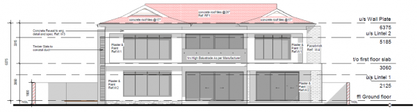 Double Storey - PDP - 002 - South Elevation