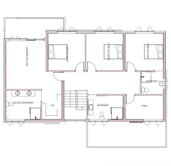 Double Storey - PDP - 003 - Floor plan 02