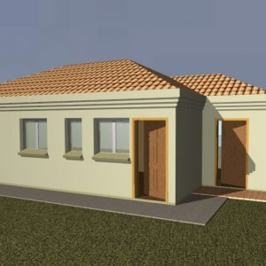 Single Storey - PBH - 004 - Render